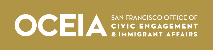 San Francisco Office of Civic Engagement and Immigration Affairs logo