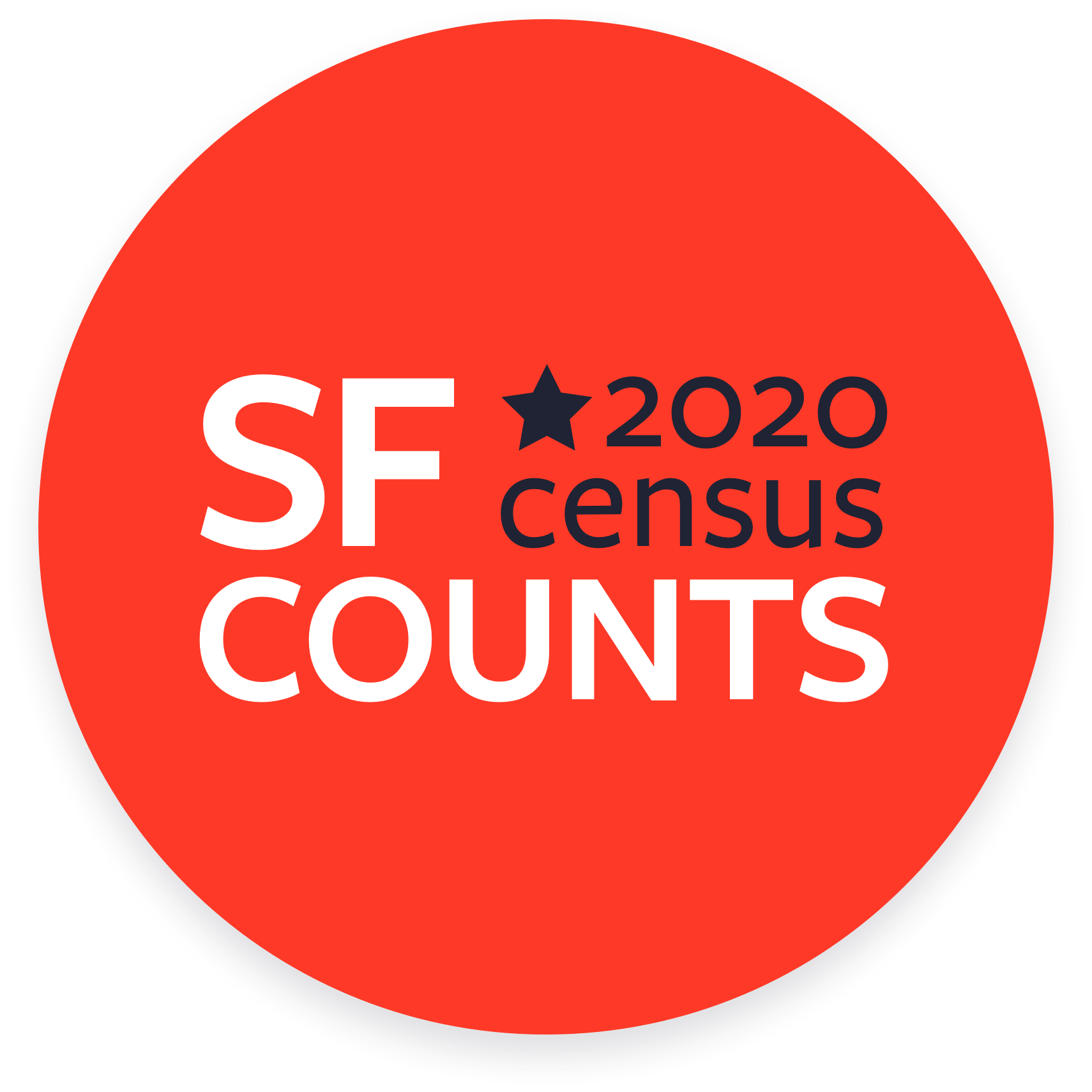 Red Circle that says SF Counts