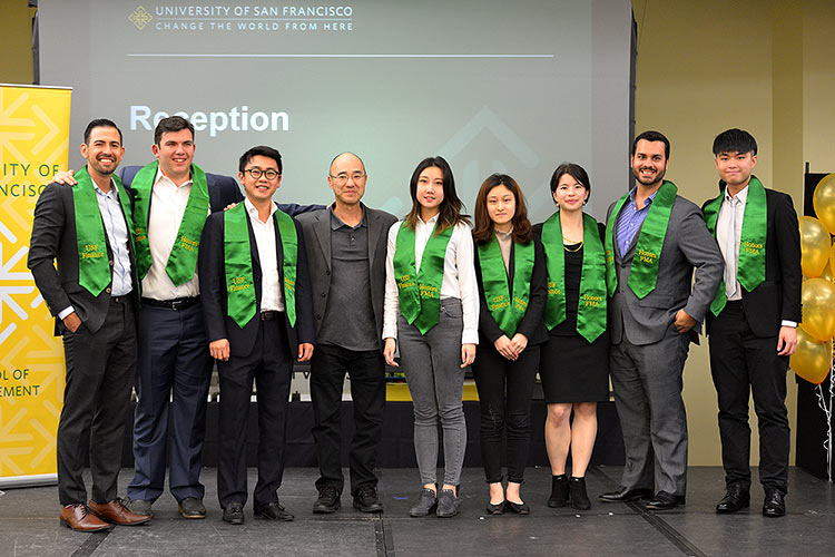 USF School of Managment Deans Honor Award Finanicial Management Association Students May 2018