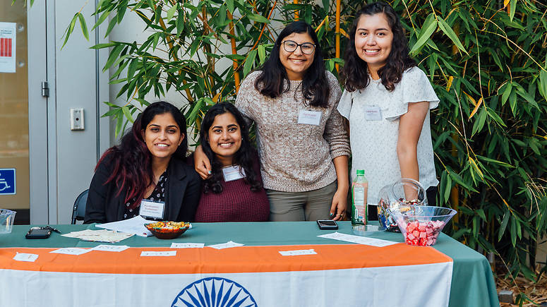 Members of the Indian Student Organization