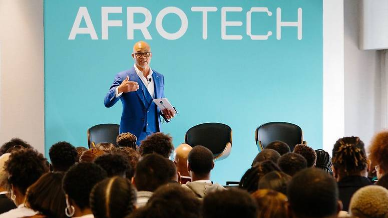 Lionel Lee at AfroTech