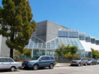 View of Koret Health and Recreation Center from the street